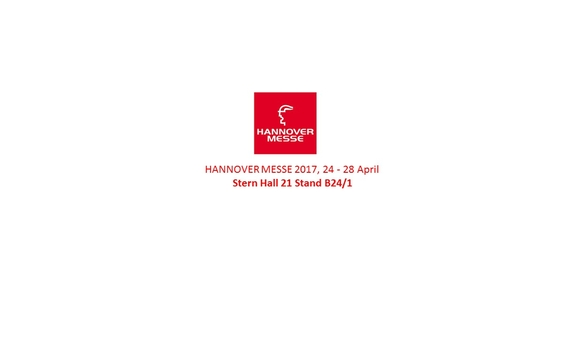 Hannover Messe: Hall 21 Stand B24/1