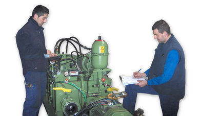 Preventive/corrective maintenance